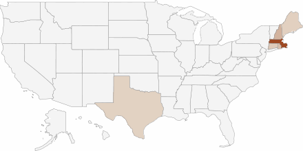 Papa Gino's in various States in the USA